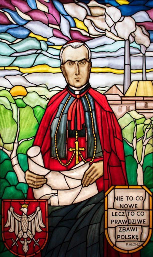 Katolik Chorzów Szkoła patron Hlond